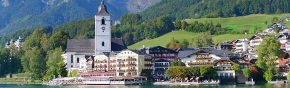AUSTRIJA - uživajte u ljepotama gradića St.Wolfgang na obali jezera Wolfgangsee i u vožnji starom parnom željeznicom do Schafberga na visini od čak 1.732 m za 264 kn!