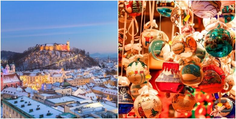 Advent Bled i Ljubljana - uživajte u predblagdanskoj čaroliji slikovitog jezera Bled okruženi alpskim vrhovima i doživite ugođaj Ljubljane za 155 kn!