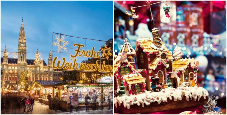 ADVENT U BEČU - obiđite jedan od najpoznatijih božićnih sajmova u Europi, uživajte u razgledu grada i doživite pravi blagdanski ugođaj za 269 kn!