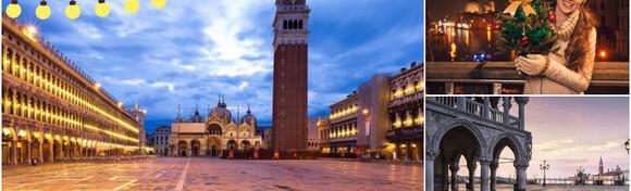 Advent u Veneciji - upustite se u čaroliju mirisa božićnih slastica i kuhanog vina uz predbožićni shopping u dizajnerskom outletu Noventa di Piave po odličnoj cijeni za 249 kn!