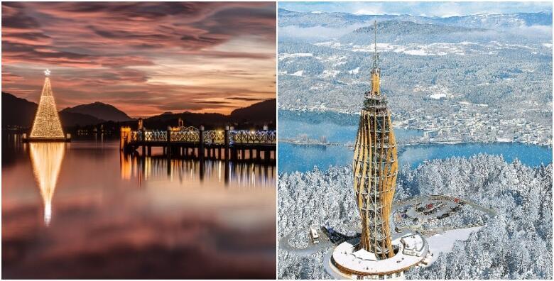ADVENT IZNAD OBLAKA - prošetajte dražesnim ulicama Klagenfurta i doživite prekrasan pogled s vidikovca Pyramidenkogel koji osvjetljava adventsko nebo za 189 kn!