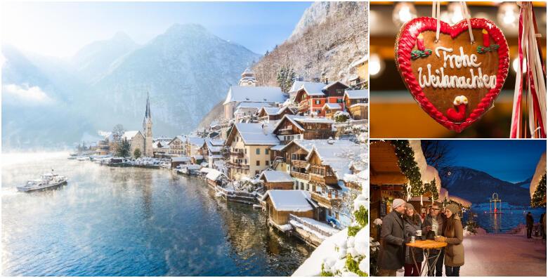 Advent na Austrijskim jezerima - božićni ugođaj u romantičnoj atmosferi uz slikovite adventske štandove, lanterne na jezerima i neodoljive austrijske slastice za 269 kn!