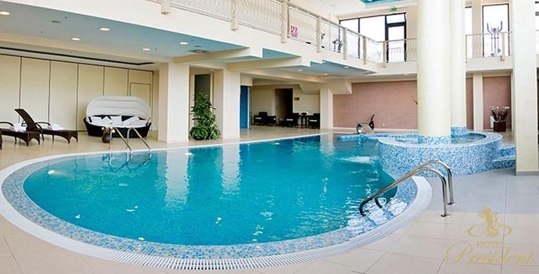 POPUST: 43% - Wellness u Hotelu President Solin 5* - 2 ili 3 noćenja s doručkom za dvoje za dvoje uz neograničeno korištenje bazena i saune te relax masažu od 1.190 kn! (Hotel President 5*)