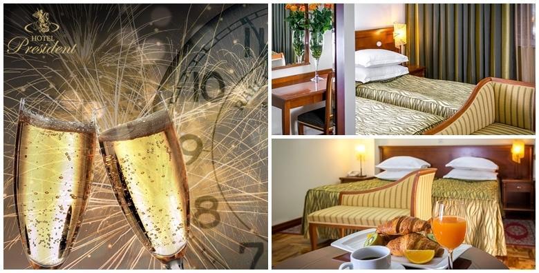 Doček Nove godine u Splitu - zagarantirana zabava i nezaboravni doček uz Jelenu Rozgu, 2 ili 3 noćenja u Hotelu President 4* uz doručak već od 1.580 kn!