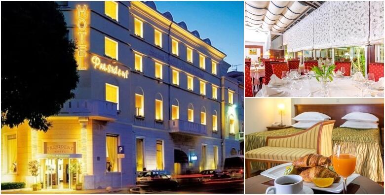 SPLIT - 2 ili 3 noćenja s doručkom za 2 osobe u Hotelu President Split 4* od 1.190 kn!