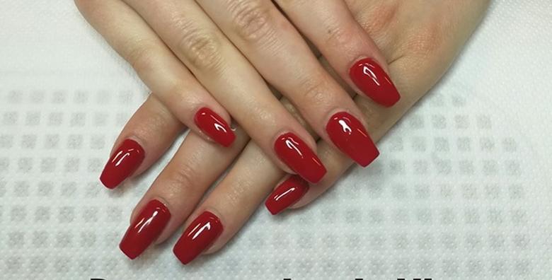 POPUST: 54% - Trajni lak i manikura ili geliranje prirodnih noktiju - odaberite najdražu između čak 500 boja laka i priuštite si lijepe nokte koji traju tjednima već od 79 kn! (Pretty nails beauty salon LaVi)