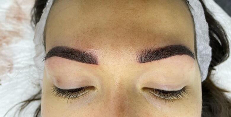 Iscrtavanje obrva - idealnom puder tehnikom definirajte obrve u Beauty salonu LaVi za 699 kn!