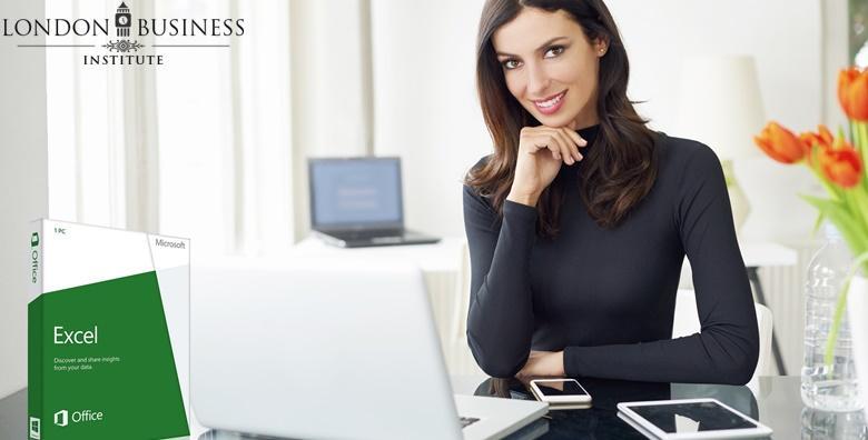 MEGA POPUST: 97% - EXCEL 2016 Savladajte rad u najpotrebnijem alatu današnjice kroz 6 ili 12 mjeseci - najprodavaniji online tečaj London Business Instituta već od 69 kn! (London Business Institute)