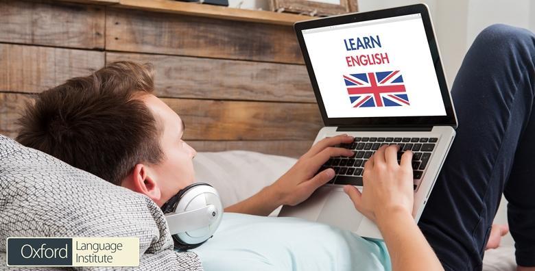 MEGA POPUST: 97% - Online engleski - tečaj u trajanju od 12 ili 18 mjeseci koji će vaše znanje dovesti do savršenstva uz uključen English Proficiency certifikat od 99 kn! (Oxford Language Institute)