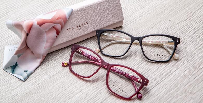 Kompletne dioptrijske naočale vrhunskih brendova uz GRATIS pregled vida za 499 kn!