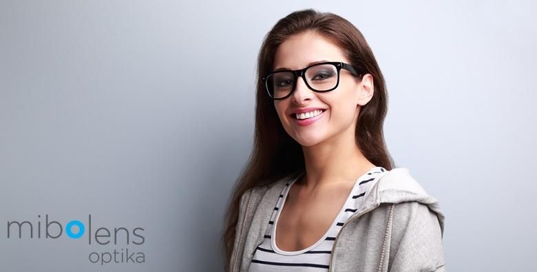 Dioptrijske naočale s okvirima i staklom sa zaštitnim slojem uz GRATIS pregled za 390 kn!