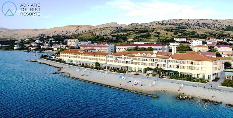 Pag, Hotel Pagus 4* - 1 ili 2 noćenja s polupansionom i wellnessom za dvoje već od 659 kn!