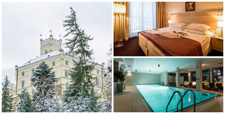 Ponuda dana: ADVENT U TRAKOŠĆANU - opuštajući odmor za 2 osobe s polupansionom uz neograničeno korištenje bazena i ulaznice za dvorac za 599 kn! (Hotel Trakošćan 4*)