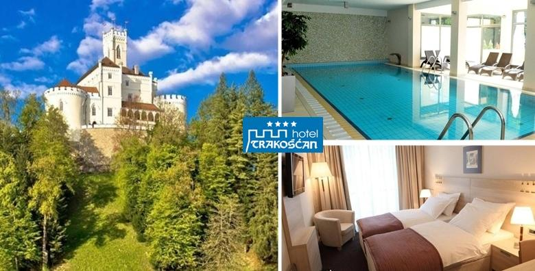 HOTEL TRAKOŠĆAN 4*- odmor tik do bajkovitog dvorca! 1 ili 2 noćenja za dvoje uz doručak ili polupansion, korištenje bazena i panoramske saune već od 599 kn!