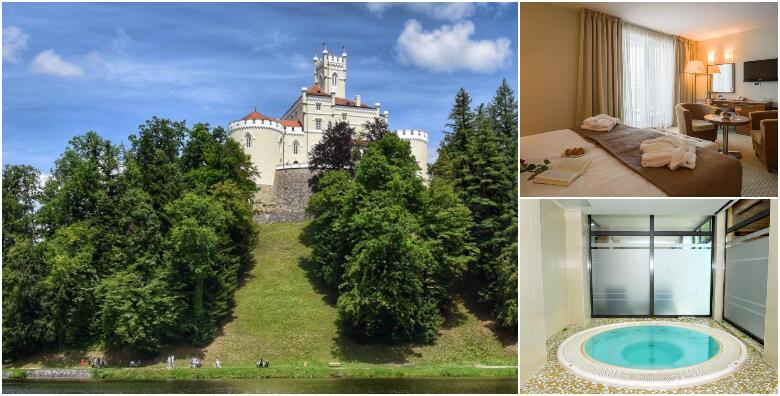 Hotel Trakošćan 4* - provedite bajkovitu zimu pored slavnog dvorca uz 2 noćenja  s doručkom za 2 osobe s korištenjem wellnessa za 999 kn!