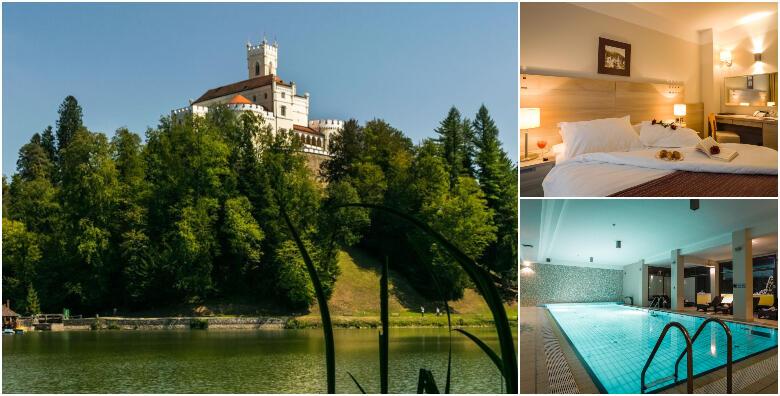 Hotel Trakošćan 4* - doživite zimsku bajku uz 1 ili 2 noćenja s polupansionom za 2 osobe s korištenjem hotelskog bazena i finske saune od 749 kn!