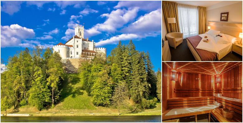 Hotel Trakošćan 4* - provedite dan iz bajke uz dnevni wellness odmor s uključenim ručkom za dvije osobe i korištenjem hotelskog bazena i saune od 350 kn!