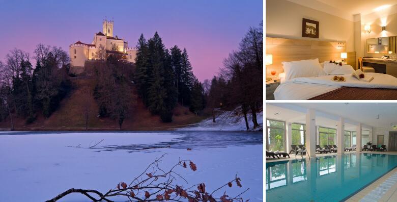 Hotel Trakošćan 4* - dan zaljubljenih provedite uz 2 noćenja s polupansionom za 2 osobe uz korištenje wellness i SPA sadržaja po odličnoj cijeni za 1.419 kn!