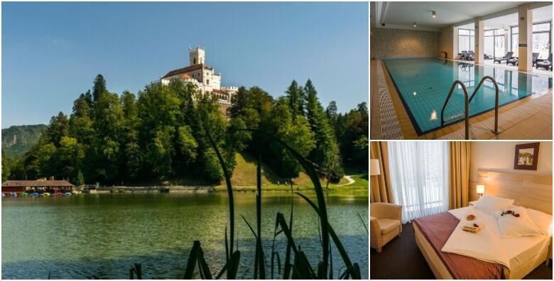 Hotel Trakošćan 4* - uživajte u proljeću uz 1 ili 2 noćenja s polupansionom za 2 osobe u Standard sobama uz korištenje wellness sadržaja od 799 kn!
