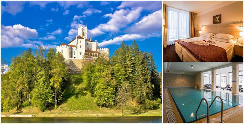 Hotel Trakošćan 4* - dnevni odmor s ručkom za 2 osobe uz korištenje bazena i saune za 450 kn!