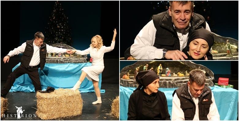 POPUST: 37% - Predstava Gastarbajterski Božić - pogledajte komediju o ljubavi između dvoje gastarbajtera koja se rađa na Badnju večer u pustom trgovačkom centru za 38 kn! (Glumačka družina Histrion)
