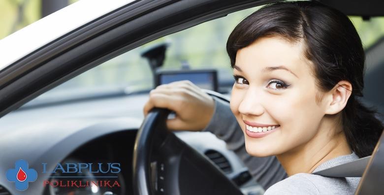 POPUST: 38% - Liječnički pregled za profesionalnu vozačku dozvolu B, C, D ili E kategorije u Poliklinici LabPlus - iskoristite akciju s JOŠ NIŽOM cijenom za 339 kn! (Poliklinika LabPlus)