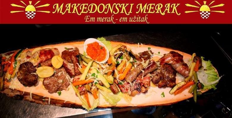 Makedonski restoran - bogati meni za četvero za 169 kn!