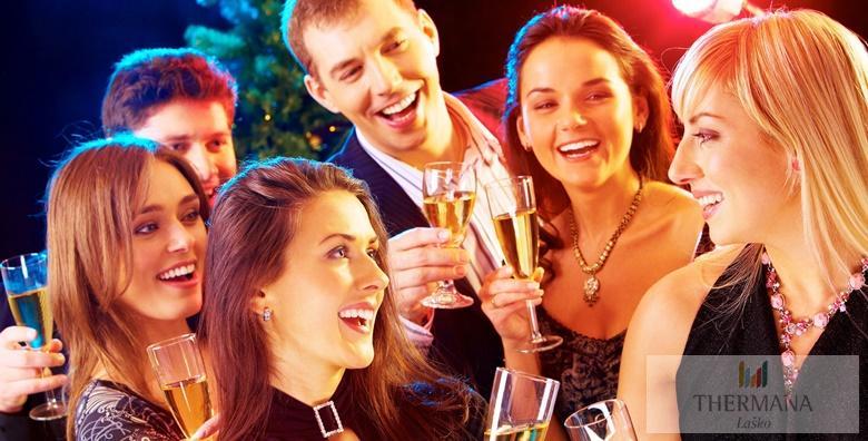 Doček Nove godine u Hotelu Zdravilišče Laško**** uz neograničeno kupanje, tematsku silvestarsku večeru i poklon od 3.285 kn!