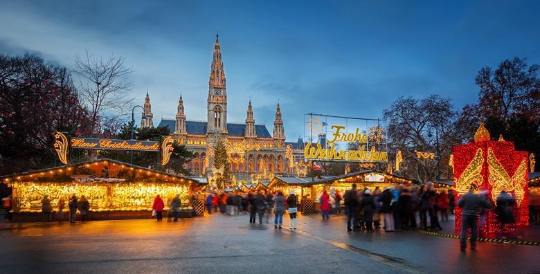 Advent u Beču i Bratislavi - 2 dana s doručkom u hotelu 3* uz uključen prijevoz za 599 kn!