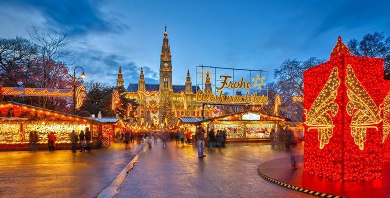 Advent u Beču - doživite blagdansku čaroliju carskog grada i posjetite najpoznatiji božićni sajam na svijetu - izlet s prijevozom za 209kn!