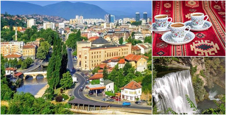 Sarajevo i Jajce - 1 noćenje s doručkom u hotelu 3* i prijevozom za 419 kn!