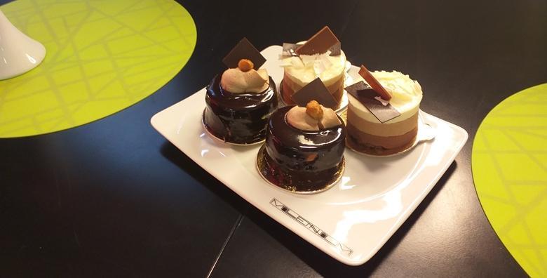 2 kolača u popularnoj Slastičarnici Millennium u centru grada - počastite se rapsodijom čokoladnih okusa za samo 35 kn!