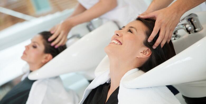 Šišanje, fen frizura, njegujuća maska i pranje kose u Beauty centru La Marena za samo 75 kn!