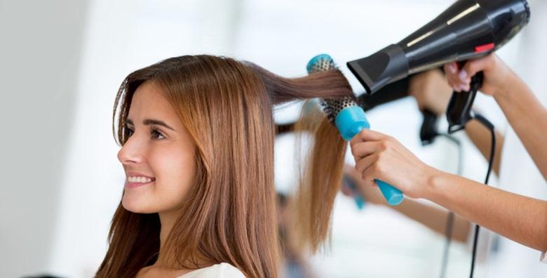 Osvježite kosu maskom i fen frizurom uz bojanje i šišanje ili pramenove i preljev od 139 kn!