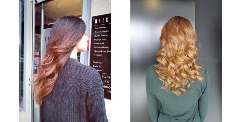Šišanje, fen frizura i ampula keratina u salonu Hair Couture za 139 kn!