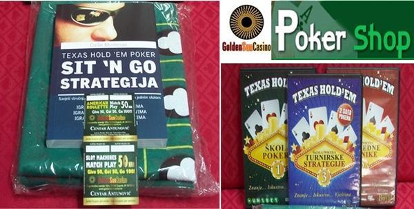Texas hold'em edukativni set - knjiga i 3 DVD-a