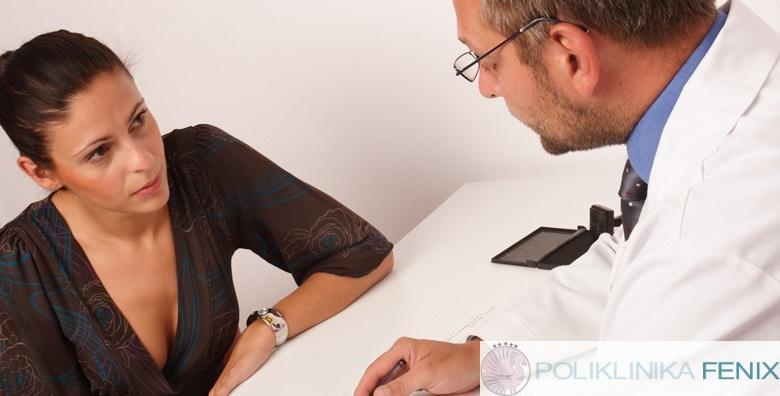 Ginekološki pregled, papa test, ultrazvuk u Poliklinici Fenix za 340 kn!