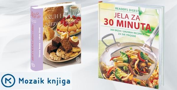 Komplet kuharica: Jela za 30 min i Kruh i kolači