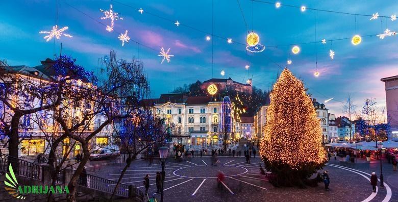 Advent u Ljubljani i Ledena zemlja - izlet za 139 kn!