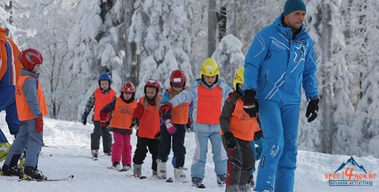 Škola skijanja ili bordanja na Sljemenu - 5 dana za 1.550 kn!