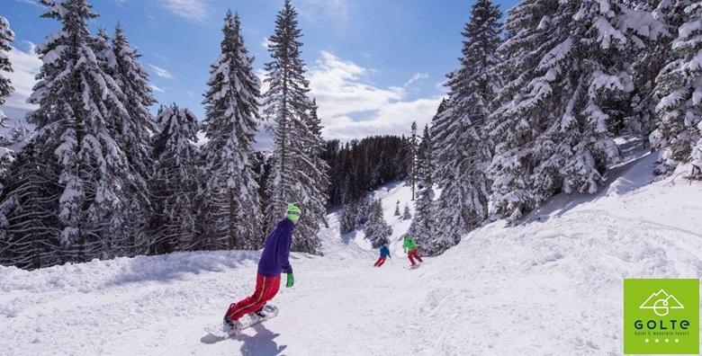 Hotel Golte**** - 3 noćenja s polupansionom i ski passom za dvoje za 3.192 kn!