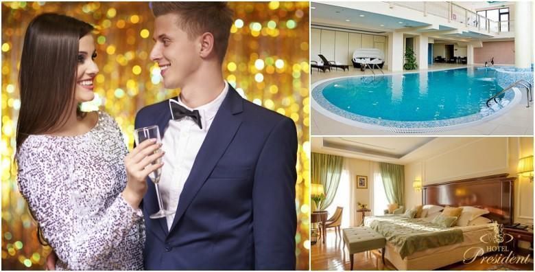 NOVA GODINA U SOLINU - 2 ili 3 noćenja u Hotel President 5* s doručkom za dvoje uz novogodišnju večeru u 4 slijeda i neograničeno piće od 1.980 kn!