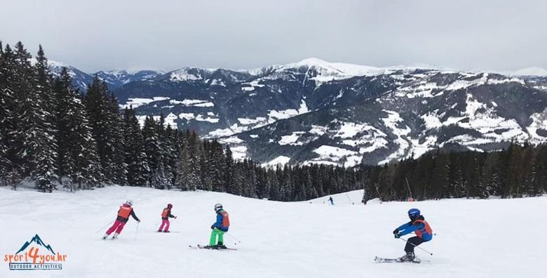 Gerlitzen - škola skijanja za djecu, 5 dana s polupansionom za 3.200 kn!