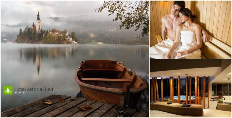 POPUST: 31% - Wellness na Bledu! 2 noćenja s doručkom za dvoje u Hotelu Astoria 3* uz masažu te korištenje masažnog bazena, sauna i prostora za relaksaciju za 1.799 kn! (Hotel Astoria Bled***)