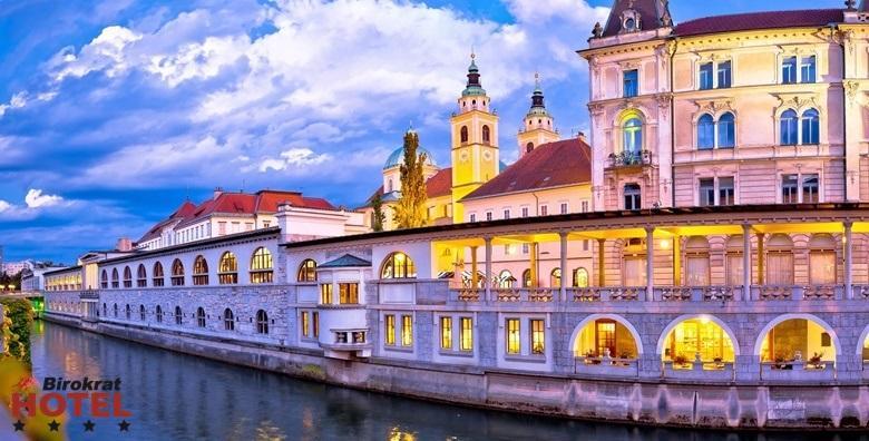 Ljubljana- 2 noćenja s doručkom za dvoje za 1.650 kn!