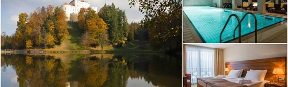 Jesen u Trakošćanu - idiličan odmor uz 1 ili 2 noćenja s polupansionom za dvoje u Hotelu 4* uz korištenje bazena, panoramske saune i whirlpoola već od 649 kn!