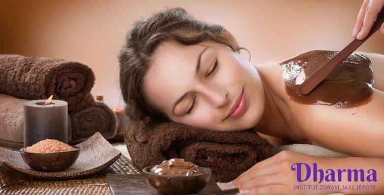 Wellness ritual čokoladom - masaža tijela, glave i lica