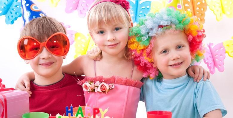Tematski rođendan po izboru za do 15 djece od 450 kn!