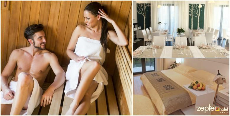 POPUST: 30% - Hotel Zepter 4* - jedno noćenje s doručkom za dvije osobe uz romantični wellness i spa oazu za 532 kn! (Hotel Zepter 4*)