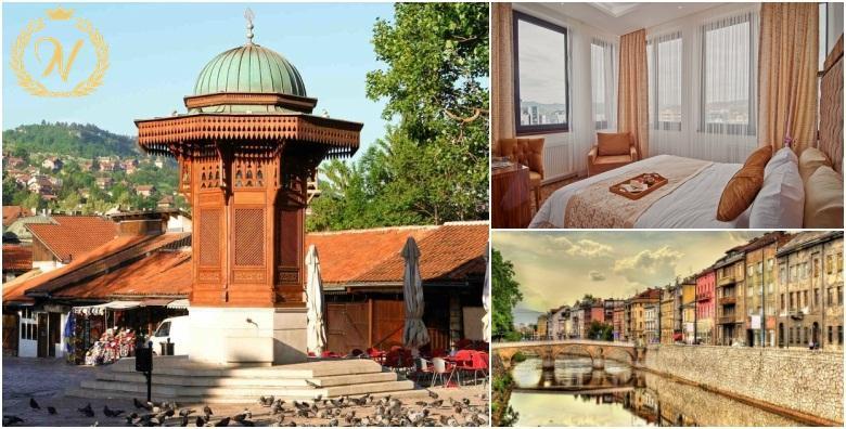 Ponuda dana: Sarajevo, Ilidža - 1 ili 2 noćenja s doručkom za dvije osobe u dvokrevetnim sobama u oazi luksuza i udobnosti koje vam nudi New Hotel **** već od 403 kn! (New Hotel****)